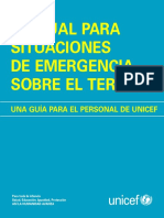 UNICEF Emergency Field Handbook SP