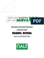 Comunicaciones - Manuel Rivera CT