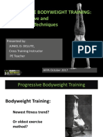 Accumulative and Regressive Bodyweight Training