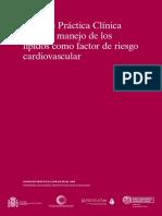 Guia Colesterol Española Como Factor Riesgo Cv