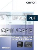 CP1L-CP1E Getting Started Guide | Input/Output
