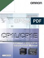 CP1L-CP1E Getting Started Guide