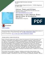 Democracy in the Andes Alvaro Garcia Lin