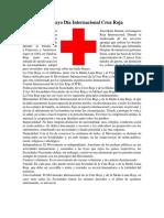 8 de Mayo Día Internacional Cruz