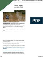 Banjir Mengancam Kota Bekasi, Lokasinya Menyebar Di 46 Titik - Tribunnews