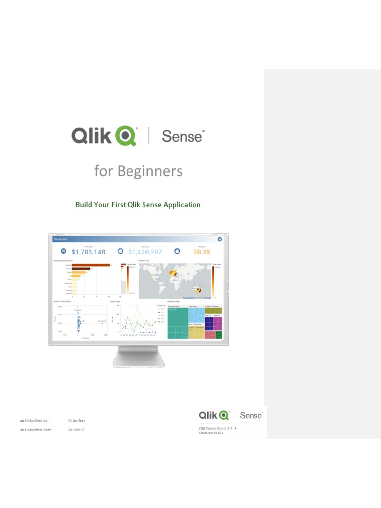 Qlik Sense Workshop Instruction 3 2 Final | Cloud Computing