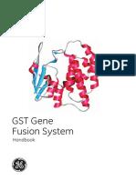 GST Gene Fusion System Handbook