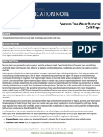 SMT-04-1006 RevA3 (App 11-08 Vacuum Trap Water Removal)
