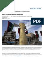 Cinco Fragmentos de Libia, Un País Roto - EL PAÍS