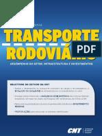Desempenho Infraestrutura Investimentos Rodoviario
