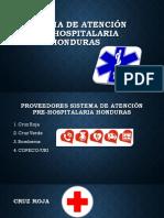 Sistema de Atención Pre-hospitalaria Honduras