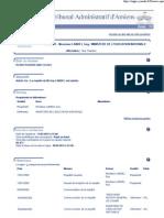 Tribunal administratif - Dossier n°0900099 - 15 janvier 2009