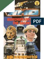 Doctor Who - El Recuerdo de Los Daleks