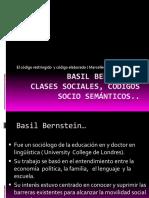 Clases Sociales, Código y Socialización Bernstein