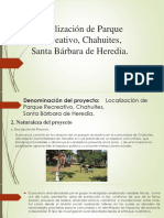 Localización de Parque Recreativo, Chahuites,Pre