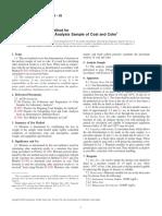 Moisture Analysis D3173-03