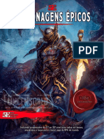 D&D5E PersonagensÉpicos DMsGuild Homebrew UncensoredRPG