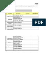 Form Checklist Portofolio