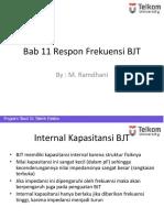 Bab 11a BJT Respon Frekuensi
