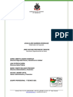 Documento Tecnico Plan Financiero 2016-2019 4.0