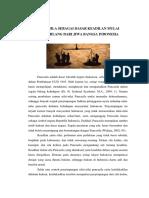 Artikel Pendidikan Pancasila - PANCASILA SEBAGAI DASAR KEADILAN MULAI MENGHILANG DARI JIWA BANGSA INDONESIA