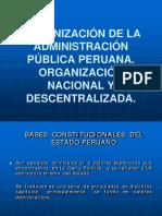 SESION 7 Organización de La Administración Pública Peruana