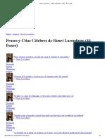 Henri Lacordaire - Frases Célebres y Citas - Aki Frases 0