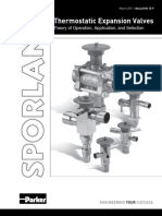 Sporlan Thermostatic Expansion Valves