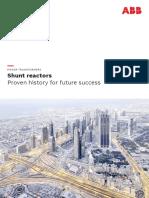 Shunt Reactors Brochure