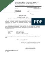 Surat Undangan Pemeriksaan Jemaah Haji