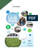 Boletim Informativo Vestibular 2016