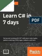 Learn C# in 7 Days by Gaurav Kumar Arora
