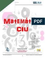 Guía Basica Matemática CIU 2013