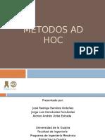 Metodos AD HOC