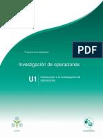 Unidad1.Introduccionalainvestigaciondeoperaciones