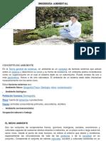 Sem. 2 - Ambiente, Medioambiente, Ecología y Ecosistema