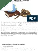 SEM. 4- Legislacion Ambiental Nacional e Internacional