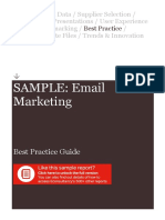 SAMPLE Econsultancy Email Marketing Best Practice Guide (1)