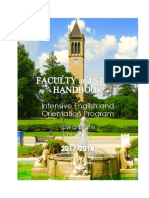 IEOP Faculty and Staff Handbook