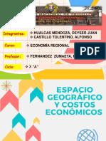Capítulo II economía regional