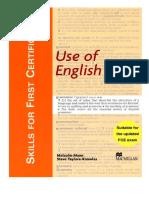 Skills for FCE Use of English SB