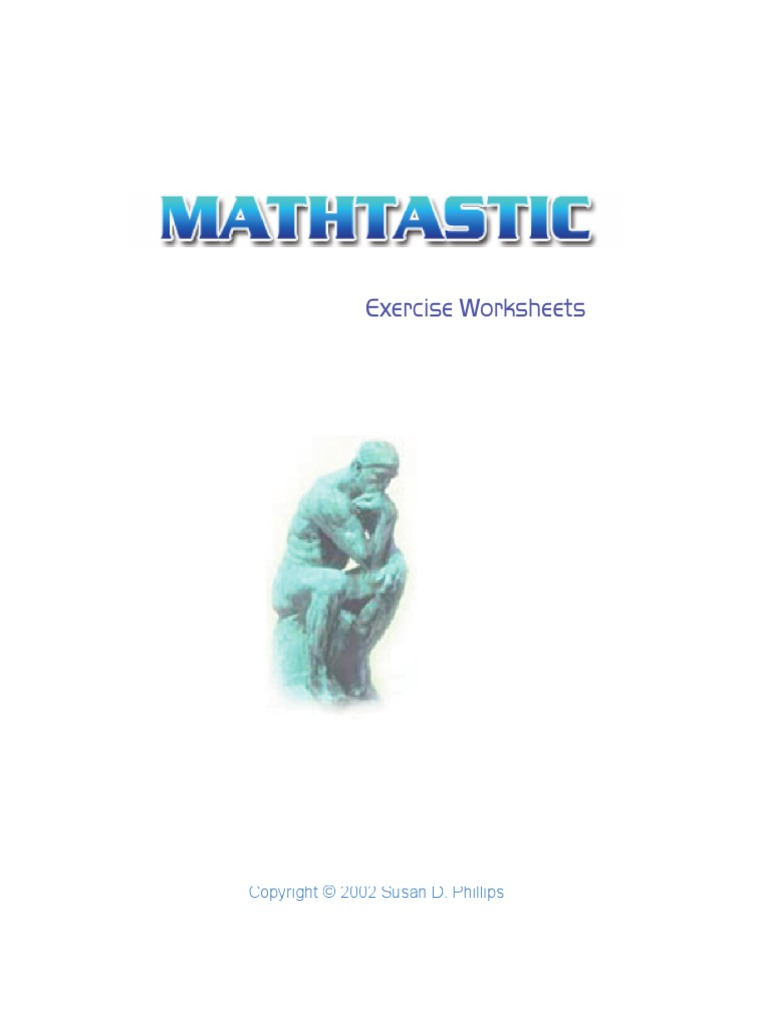 m20 Mathtastic Exercise Worksheets - All of Math 20 | Area | Fraction  (Mathematics)