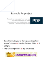 Example for Project