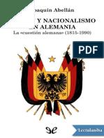 Nacion y Nacionalismo en Alemania - Joaquin Abellan