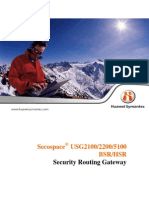 Secospace Security Routing Gateway