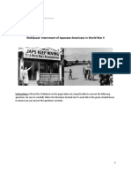 webquest japanese american internment
