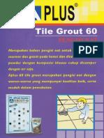 APLUS Tile Grout