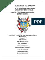 Contaminación y Explotación Minera a Tajo Abierto en El Valle de Tambo 34