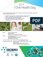World One Health Day 2017