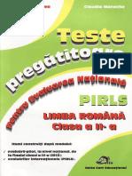 201996306 Carti Teste Pregatitoare Limba Romana Evaluarea Clasa 2 Ed Delta Cart